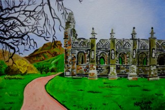 Holyrood Abbey, 2012