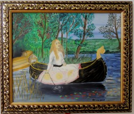 The Lady of Shalott, 2009 (Based on a painting by John William Waterhouse)