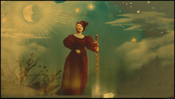 Annie Lennox nella sua versione video della carola tradizionale God rest you, merry gentlemen