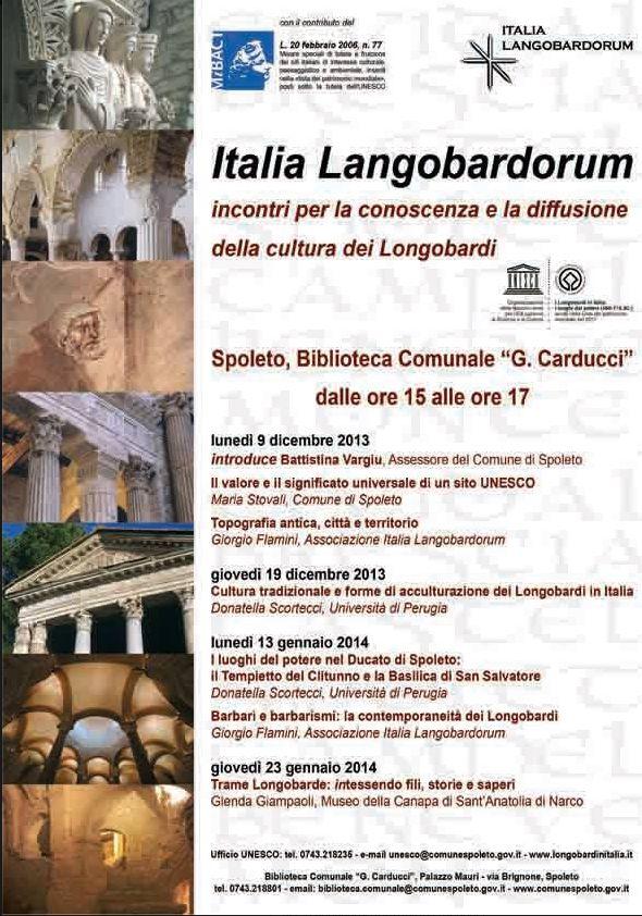 ciclo conferenze Italia Langoradorum