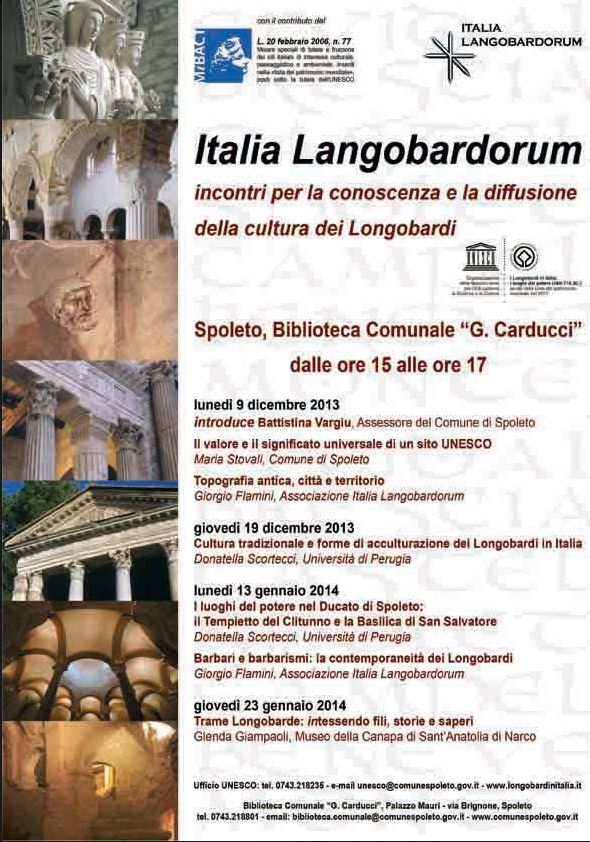 ciclo conferenze Italia Langoradorum