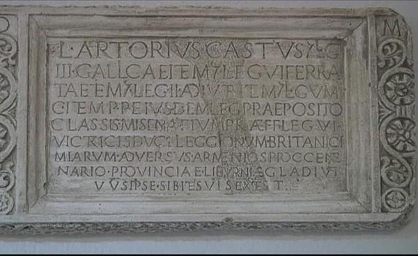 Epigrafe del II secolo rinvenuta a Podstana in Croazia