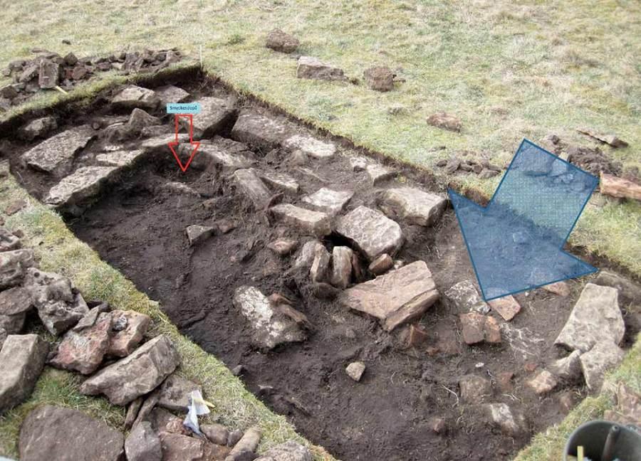 Ingresso di abitazione con diversi morti. Foto Kalmar County Museum