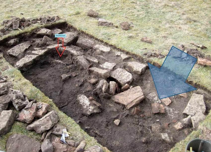 Ingresso di abitazione con diversi morti.<br> Foto Kalmar County Museum