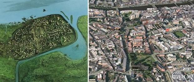 La Dublino vichinga e come appare oggi