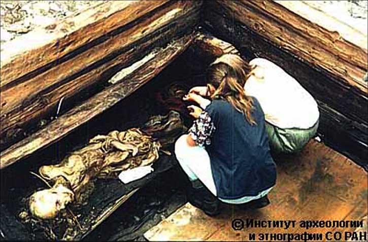 Appena sciolto il ghiaccio. Istituto di Archeologia ed Etnografia, Filiale siberiana dell'Accademia Russa delle Scienze