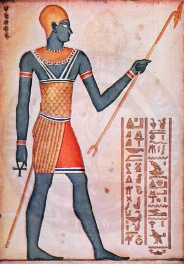 Imhotep vissuto nel XVII sec. a.C.