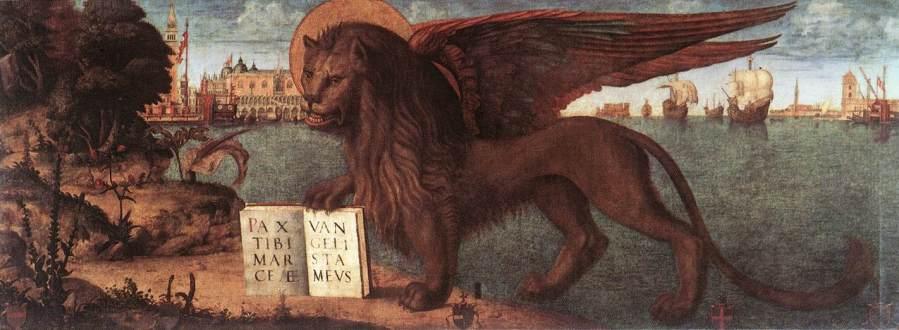 Leone di San Marco, dipinto di Carpaccio