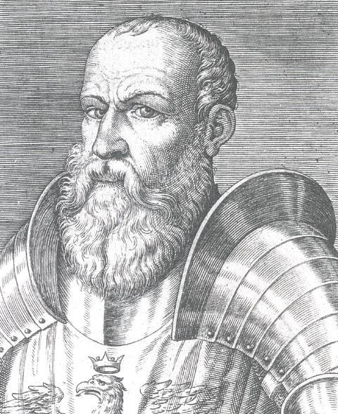 Ritratto xilografico di Ezzelino III da Romano