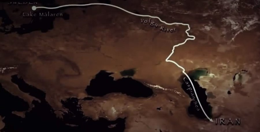 La via del Volga vichinga dalla Svezia all'Iran
