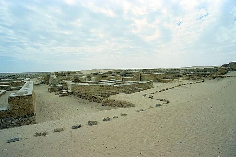 Tebtunis, antica egiziana Foto: Roland Unger