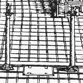 Il luogo delle esecuzioni capitali tra le colonne di Marco e Todaro