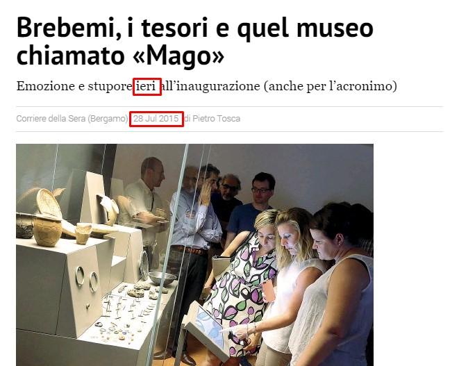 Corriere della Sera 28 luglio 2015