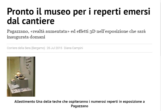Corriere della Sera 26 luglio 2015