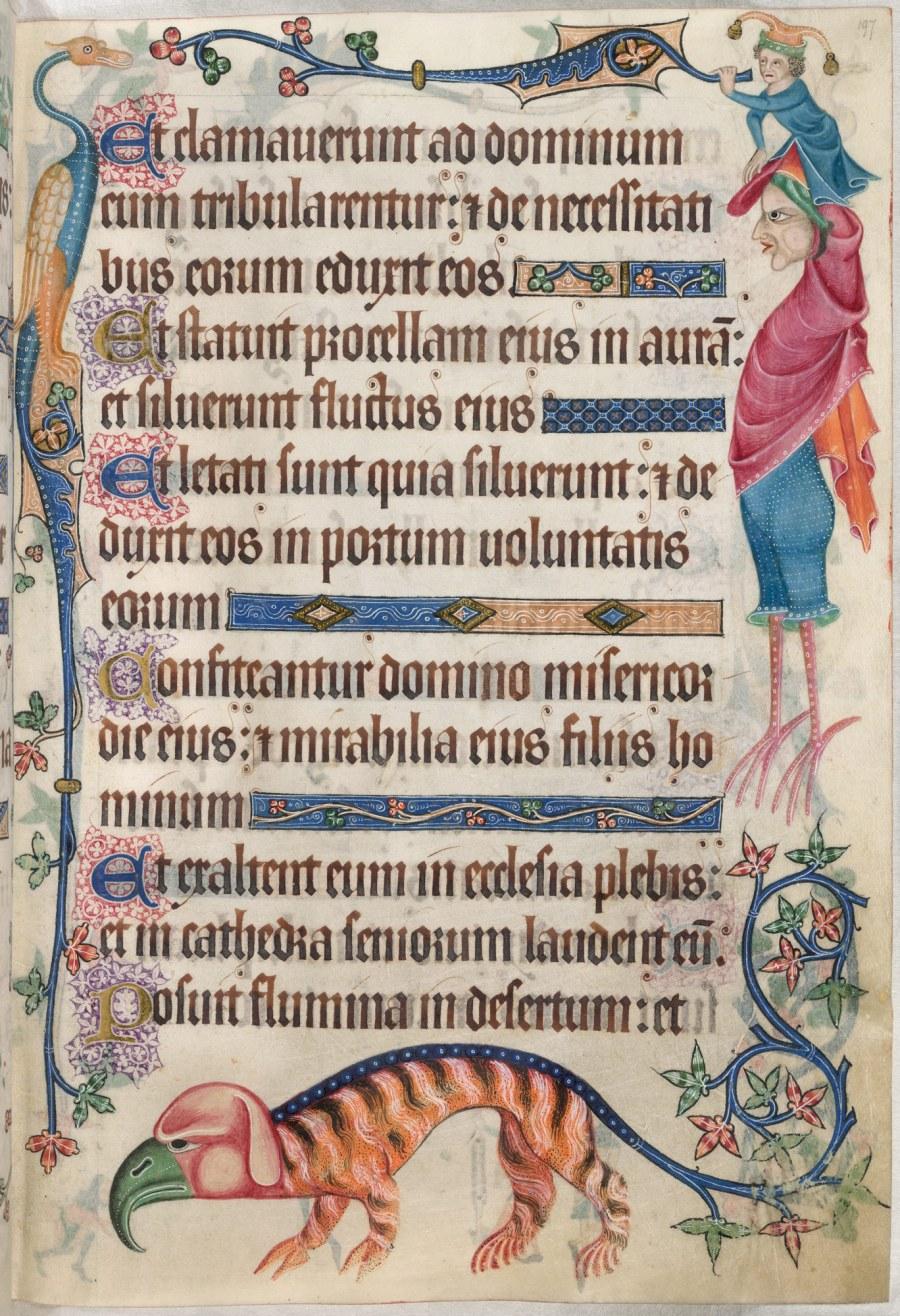 Salterio di Luttrell (1320 - 40) MS 42130 British Library