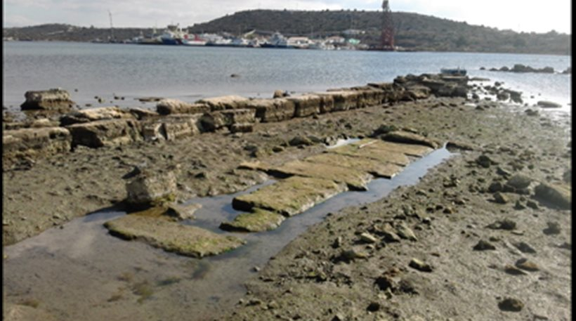 Area archeologica in esame a Salamina (Foto: http://greece.greekreporter.com)