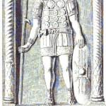 Lapide romana da Baumeister, illustrazione 2265