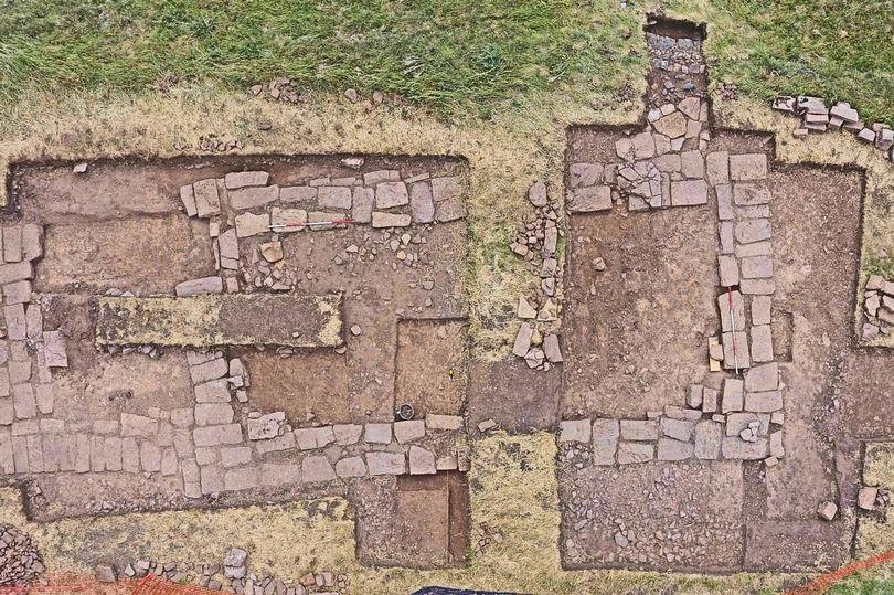 La chiesa appena scavata a Lindisfarne (Foto: Handout)