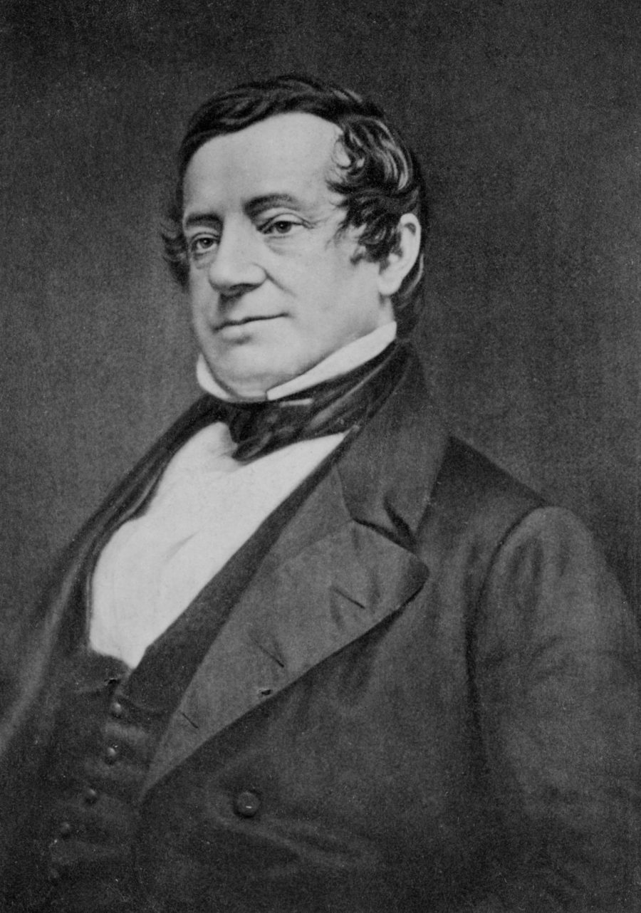 Dagherrotipo di Washington Irving (Library of Congress's Prints and Photographs division)
