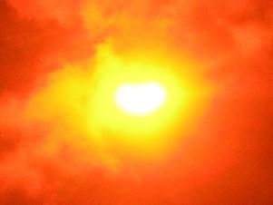 Солнечное затмение в Тольятти 5