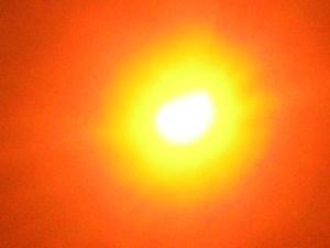 Солнечное затмение в Тольятти 6