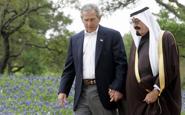 FILES-US-SAUDI-BUSH-ABDULLAH