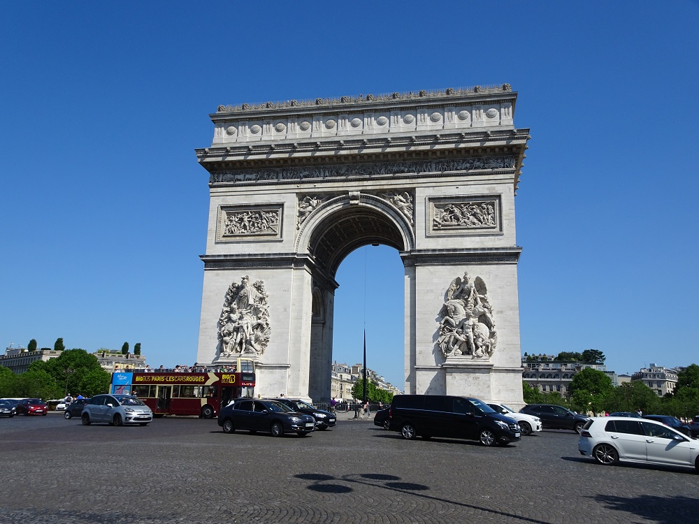 CHAMPS ELYSE & THE ARC DE TRIOMPHE