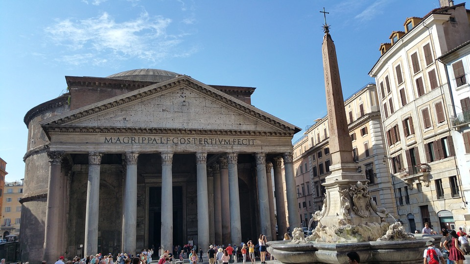 Pantheon Rome travel blog