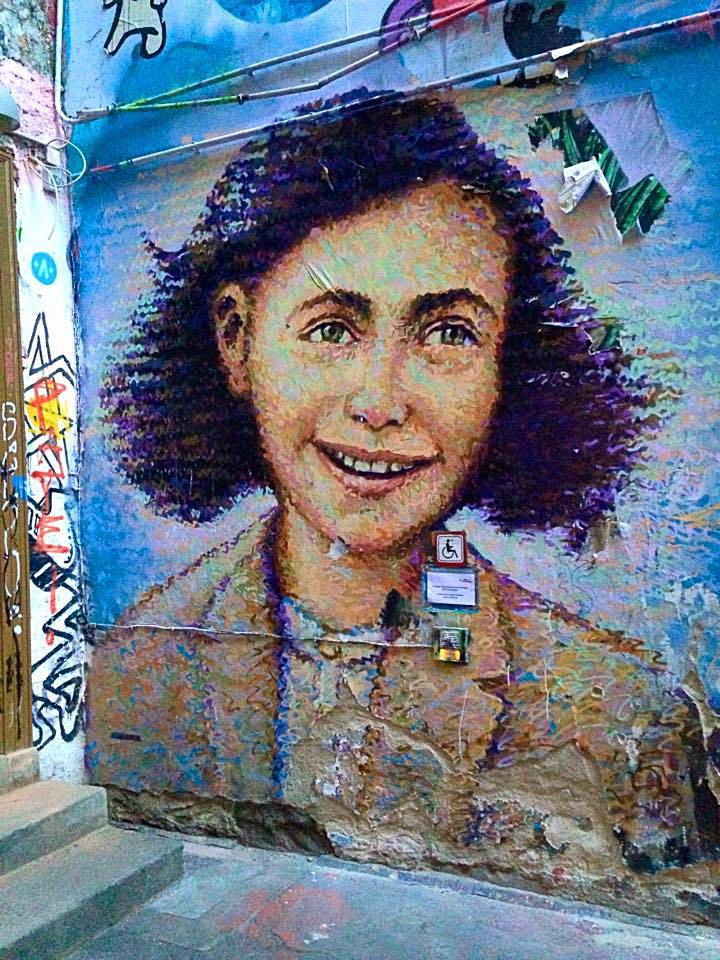 Anne Frank Berlin art