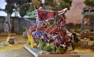 Ulthuan-Principes-alto-elfo-Dragonero-elf-high-Dragon-Princes-Caledor-02