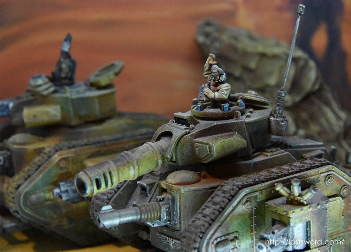 Leman Russ Astra Militarum Guardia Imperial Taros