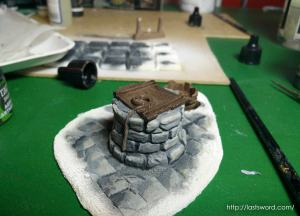 Pozo-Warhammer-Water-Well-Fantasy-Scenery-Mordheim-1650-Modelling-How-Scultp-04