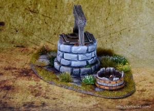 Pozo-Warhammer-Water-Well-Fantasy-Scenery-Mordheim-1650-Modelling-How-Scultp-09