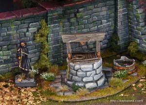 Pozo-Warhammer-Water-Well-Fantasy-Scenery-Mordheim-1650-Modelling-How-Scultp-12