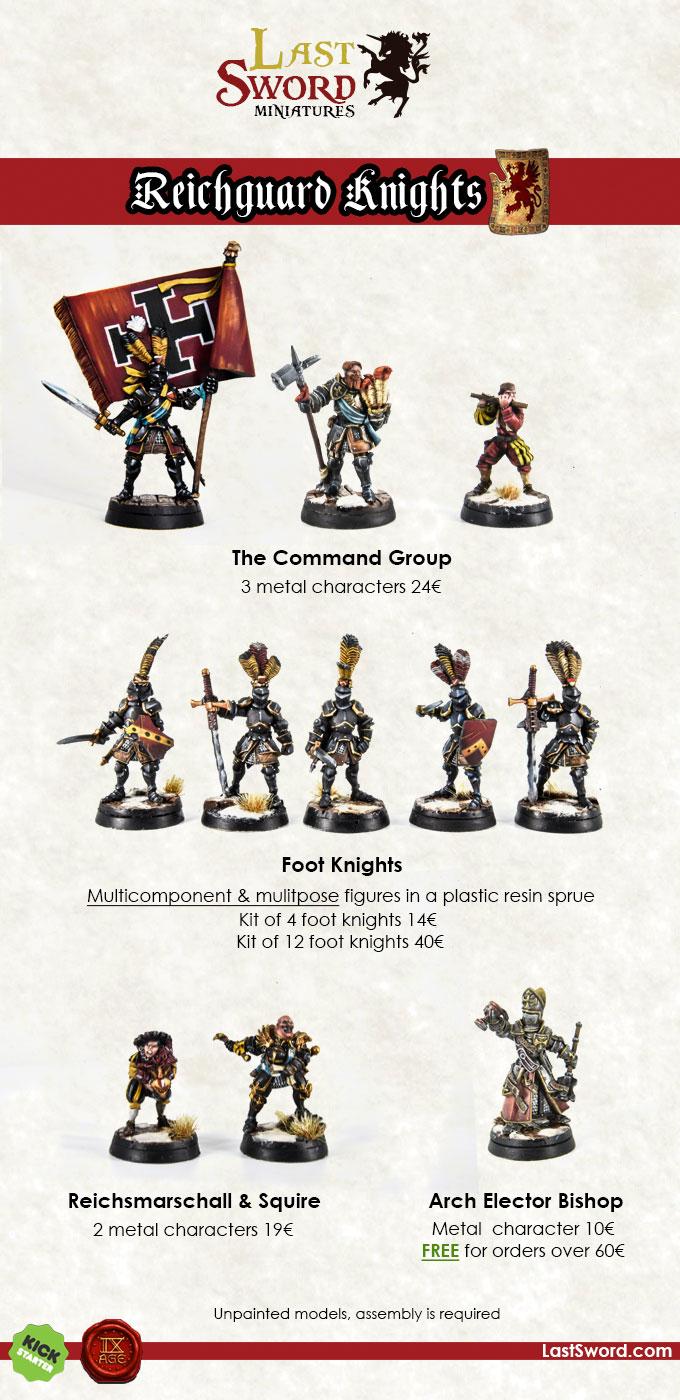 LastSword, EL Canto de las Espadas Reichguard-kickstarter-kinght-warhammer-empire-01