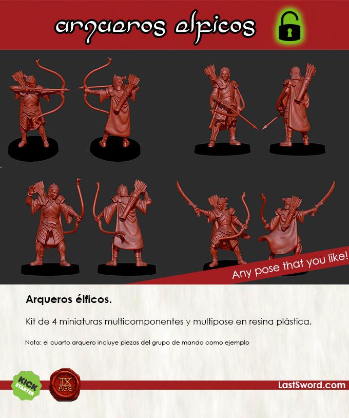 Kickstarter-Elven-Miniatures-Archer-spanish