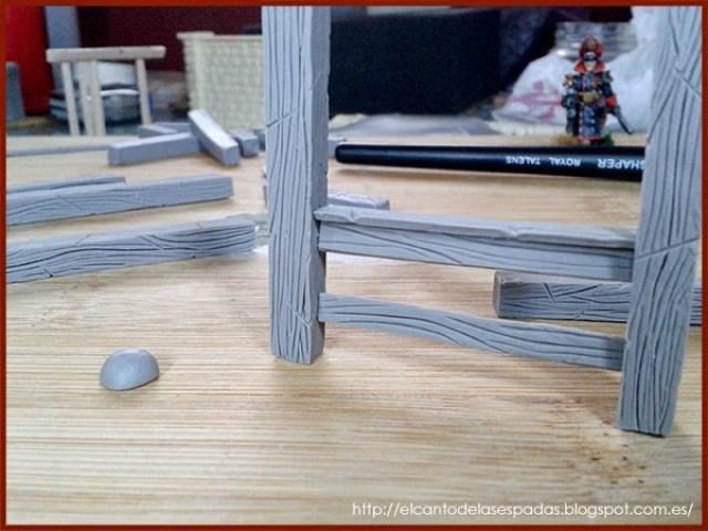 Super-Sculpey-Firm-Clay-Establo-Stable-Stall-Escenografía-1650-Warhammer-Mordheim-Scenery-02
