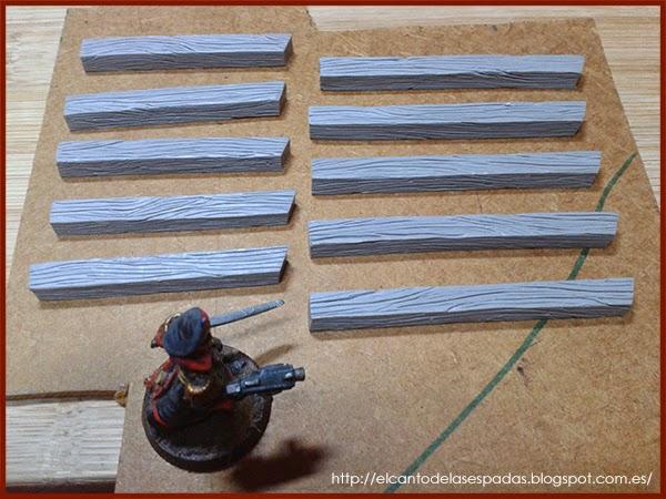 Super-Sculpey-Firm-Madera-Wood-Stable-Stall-Establo-Escenografía-1650-Warhammer-Mordheim-Scenery-08