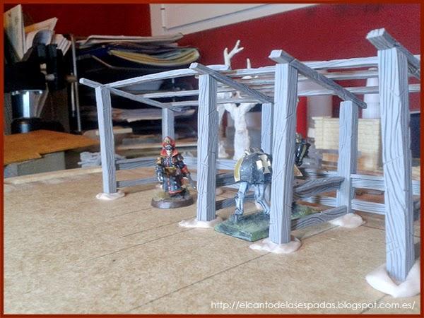 Super-Sculpey-Firm-Clay-Masilla-Techumbre-Roofing-Tejado-Rooftop-Stable-Stall-Establo-Escenografía-1650-Warhammer-Mordheim-Scenery-03