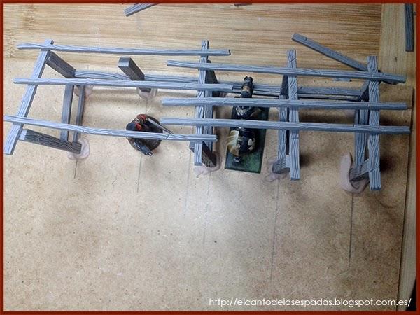 Super-Sculpey-Firm-Clay-Masilla-Techumbre-Roofing-Tejado-Rooftop-Stable-Stall-Establo-Escenografía-1650-Warhammer-Mordheim-Scenery-02