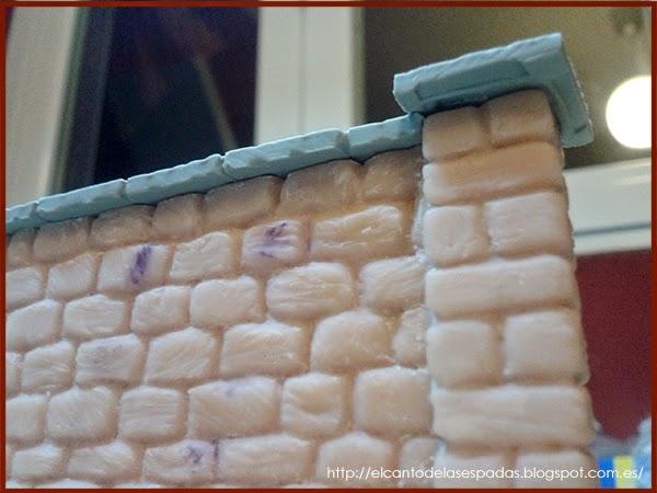 SuperSculpey-Piedra-Muro-Columna-Pillar-alto-Wall-High-Stone-Wargames-Warhammer-Escenografia-Scenery-Bolt-FOW-11