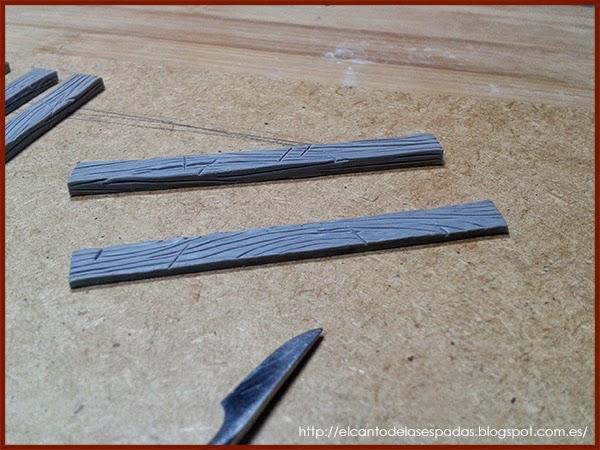 Super-Sculpey-Firm-Clay-Masilla-Techumbre-Roofing-Tejado-Rooftop-Stable-Stall-Establo-Escenografía-1650-Warhammer-Mordheim-Scenery-09
