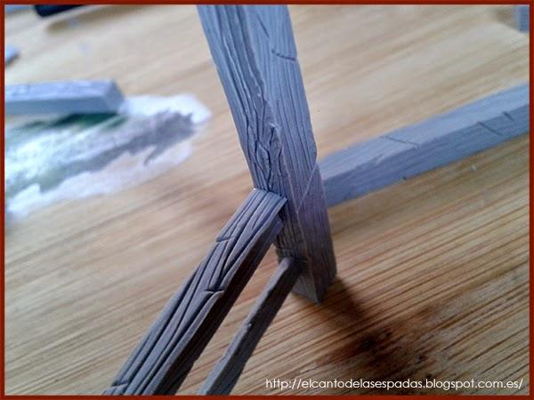 Super-Sculpey-Firm-Clay-Establo-Stable-Stall-Escenografía-1650-Warhammer-Mordheim-Scenery-03