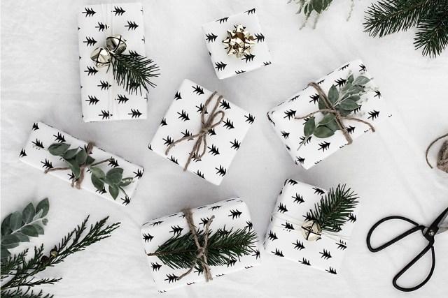 Оригинальная упаковка подарков на Новый год, Оригинальная упаковка подарков Новый год 2018, Оригинальная упаковка подарков Новый год собаки