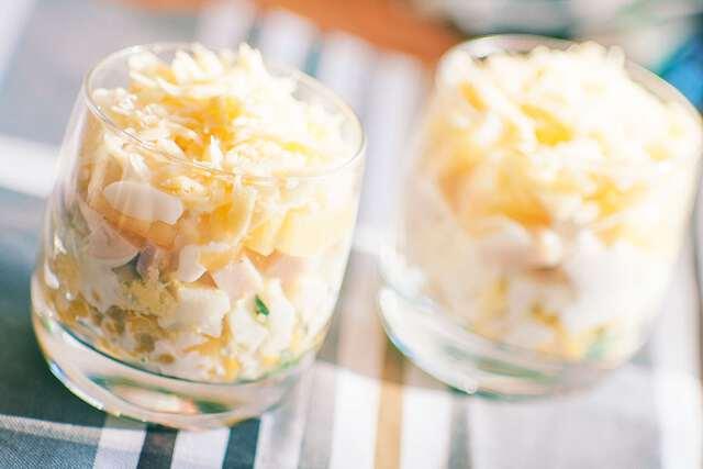 Новогодние салаты 2019, новогодние салаты рецепты, новогодние салаты год Свиньи