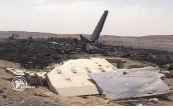 В Иране упал украинский самолет. Видео очевидцев.
