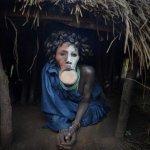 Девушки племени Сури