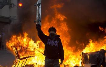 Американцы обвиняют Россию в подстрекательстве беспорядков в Миннеаполисе.