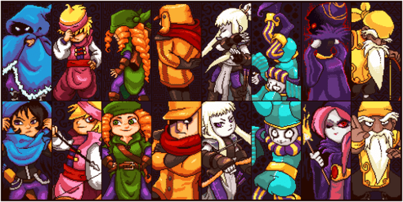 Towerfall: Ascension Characters