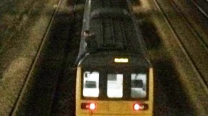 Man on train roof Lincoln 300x168 - Man got on to roof of moving train because he wanted a ride home